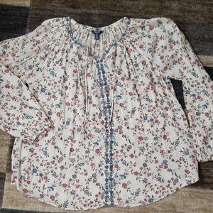 Chaps womens blouse.